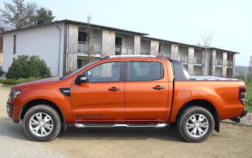 Erster und einziger Pickup mit fünf Sicherheitssternen: Ford Ranger, hier als Wildtrak.