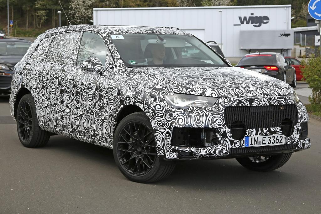 Erwischt: Erlkönig Audi Q7 - Generation 2 kommt 2015