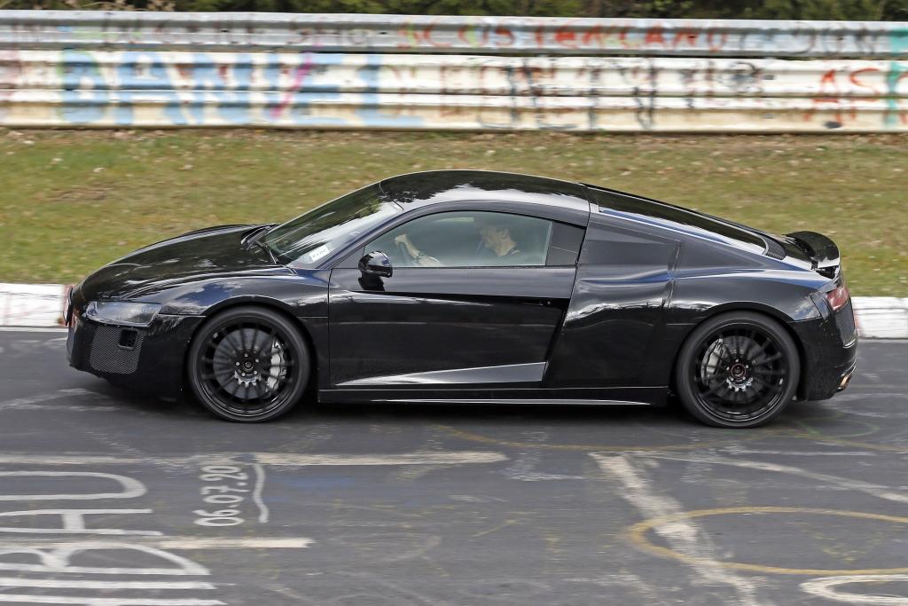 Erwischt: Erlkönig Audi R8 (2015)