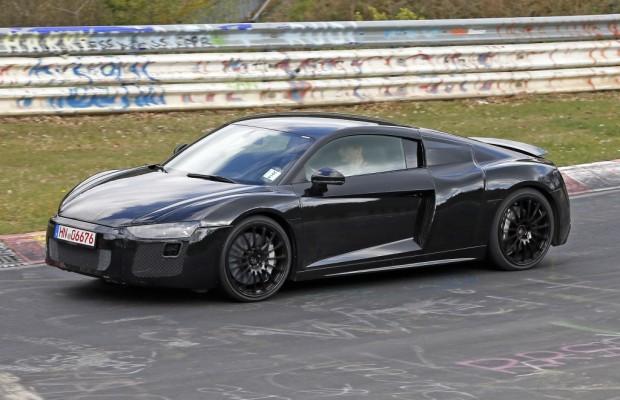 Erwischt: Erlkönig Audi R8