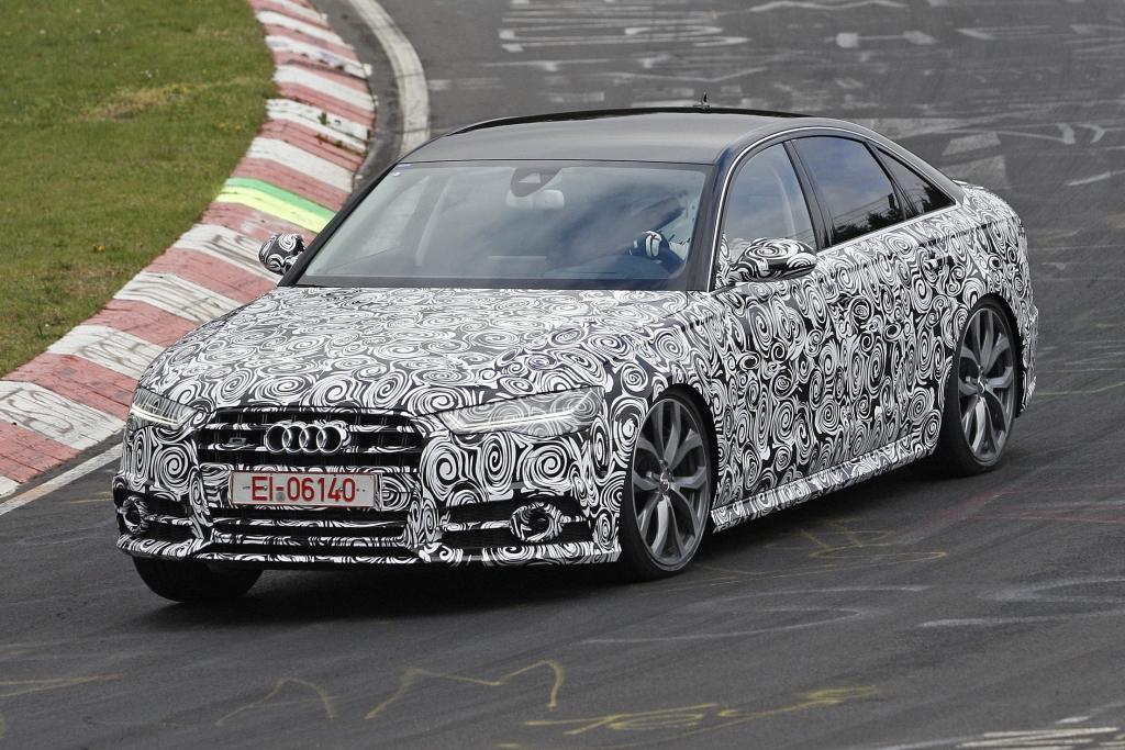 Erwischt: Erlkönig Audi S6 Facelift