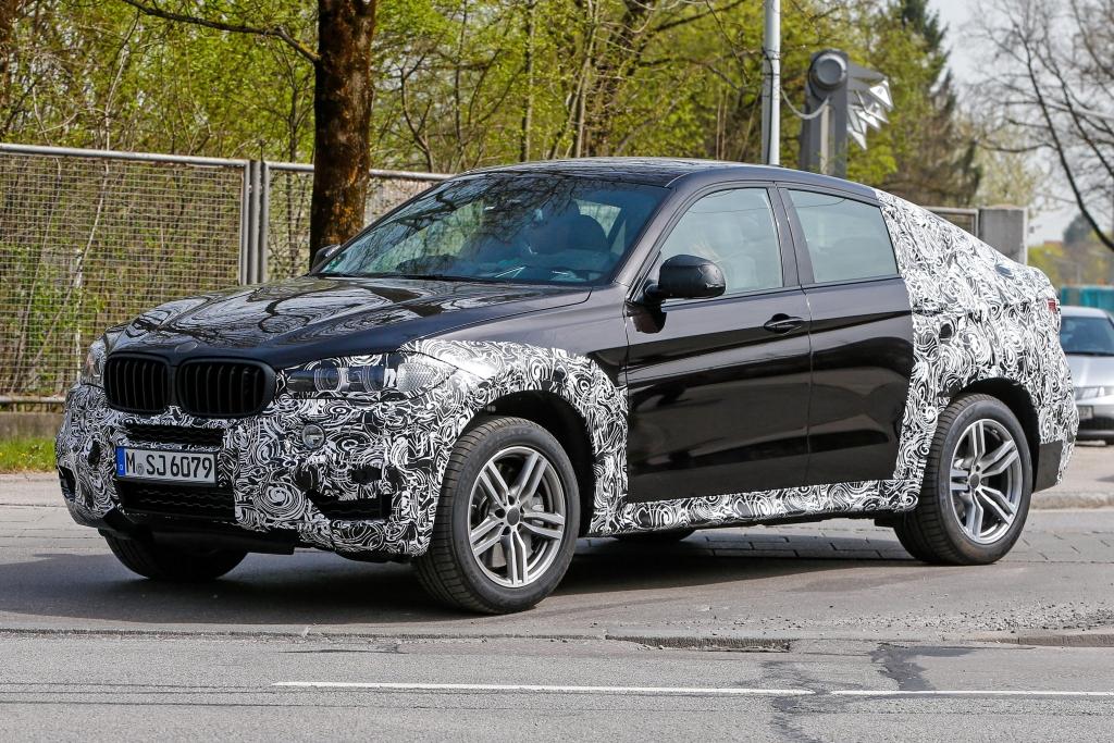 Erwischt: Erlkönig BMW X6