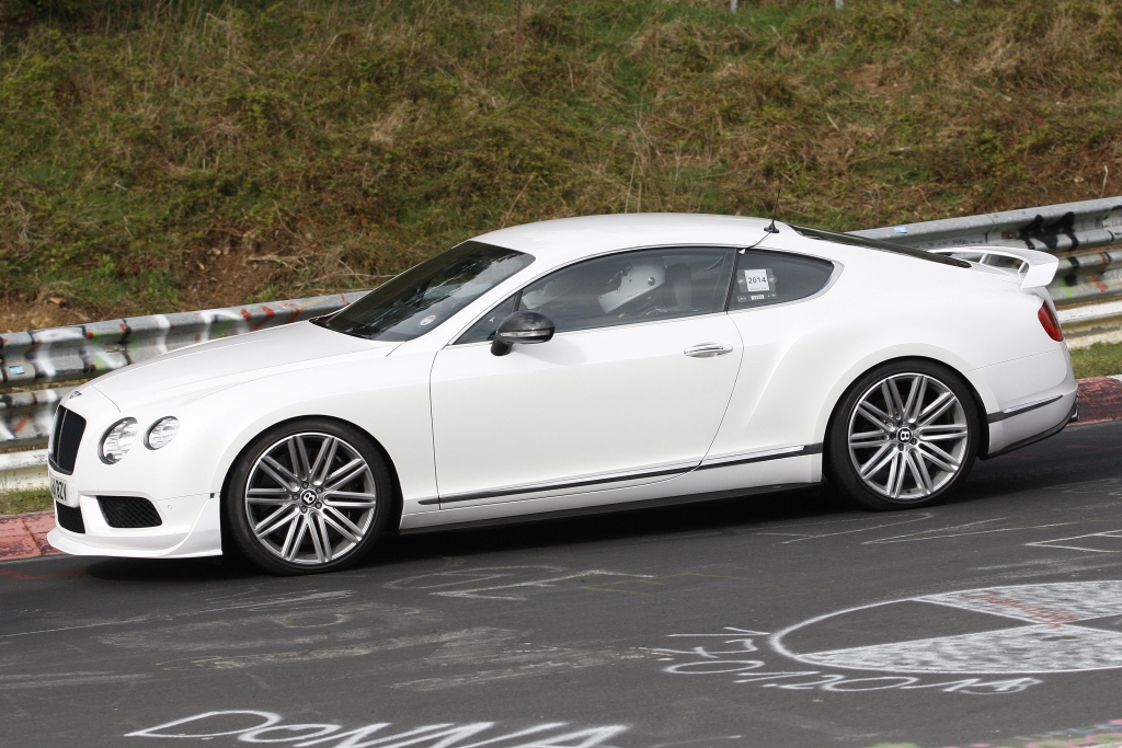 Erwischt: Erlkönig Bentley Continental GT V8 RS
