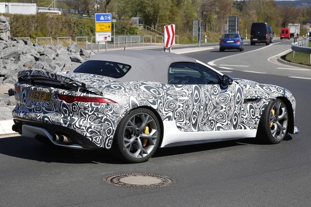 Erwischt: Erlkönig Jaguar F-Type R-S