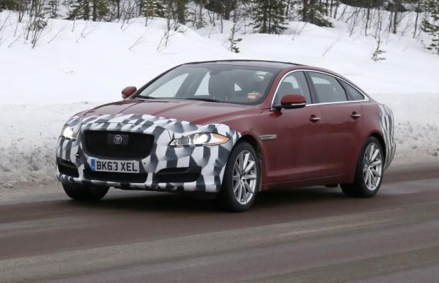 Erwischt: Erlkönig Jaguar XJ
