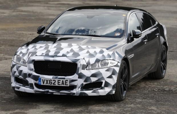 Erwischt: Erlkönig Jaguar XJR Facelift