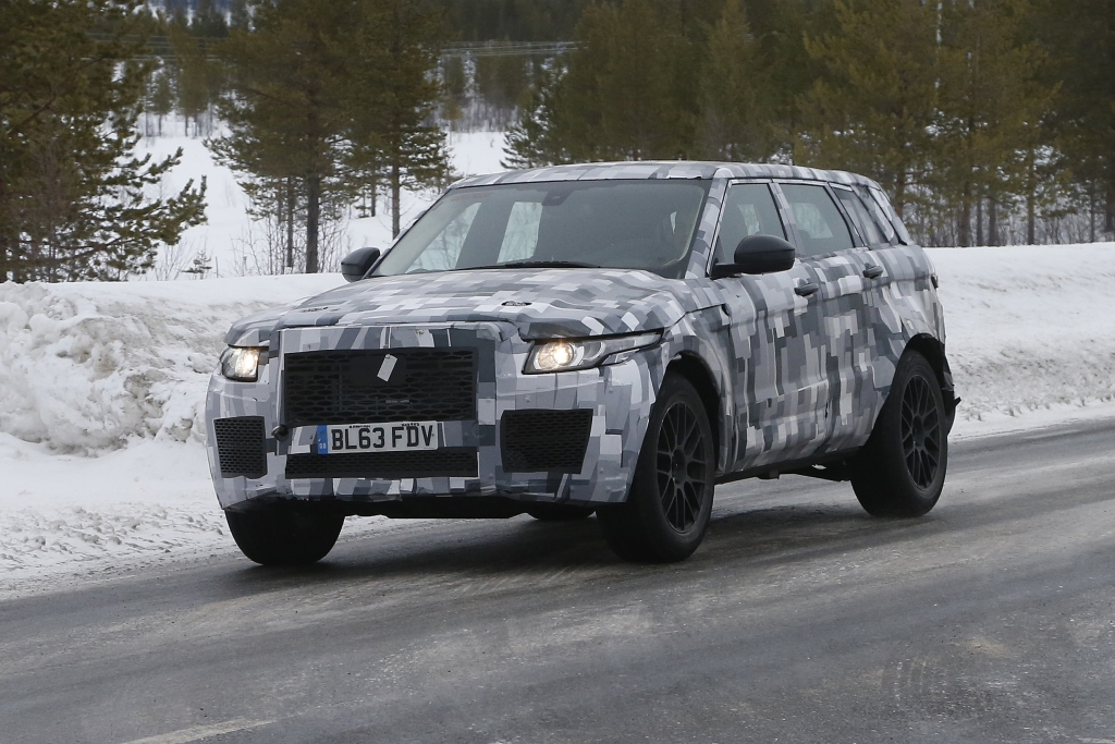 """Erwischt: Erlkönig Land Rover Baby Discovery """"RS"""""""
