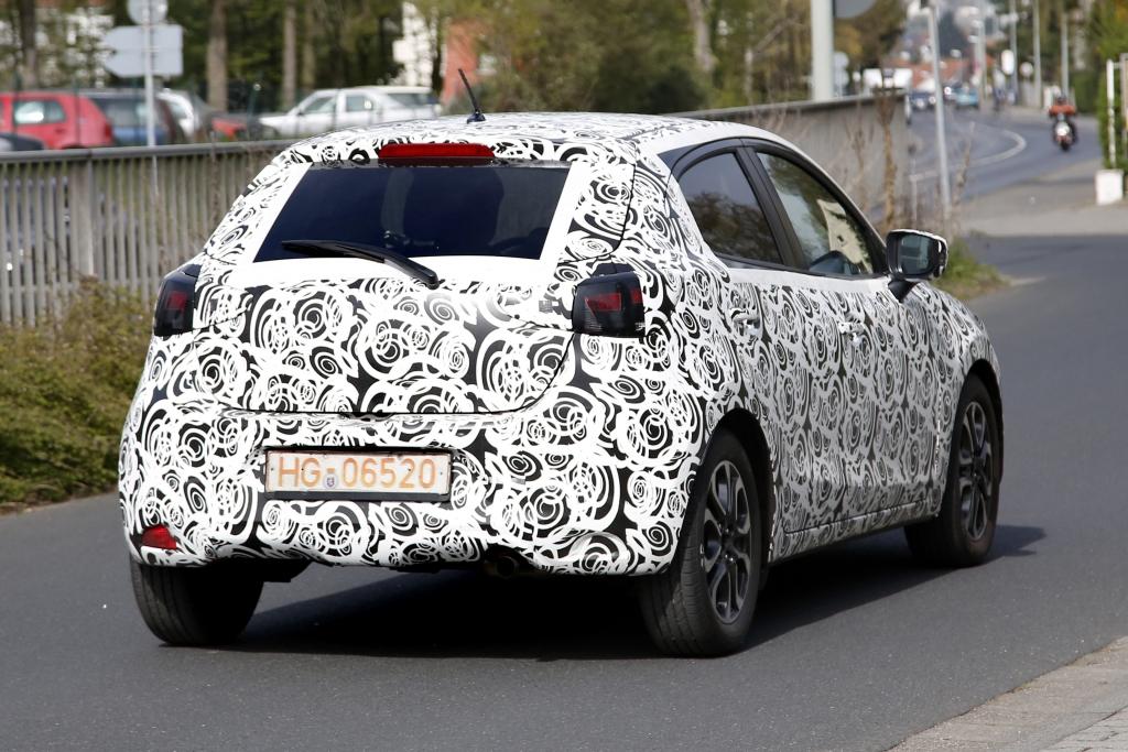 Erwischt: Erlkönig Mazda 2 - Nachwuchs für die Kodo-Herde