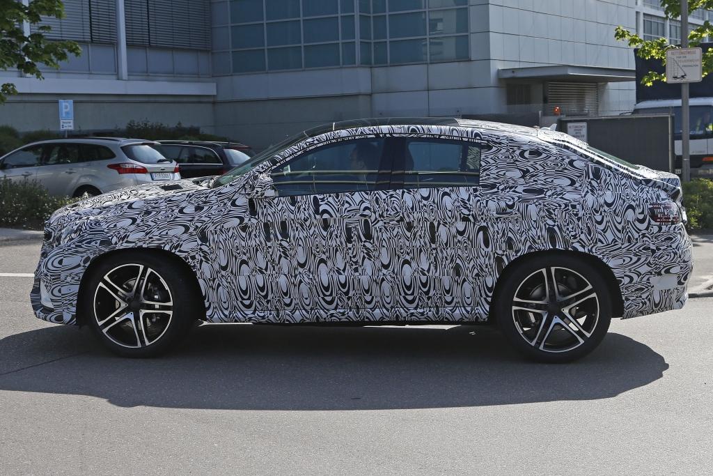 Erwischt: Erlkönig Mercedes-Benz MLC