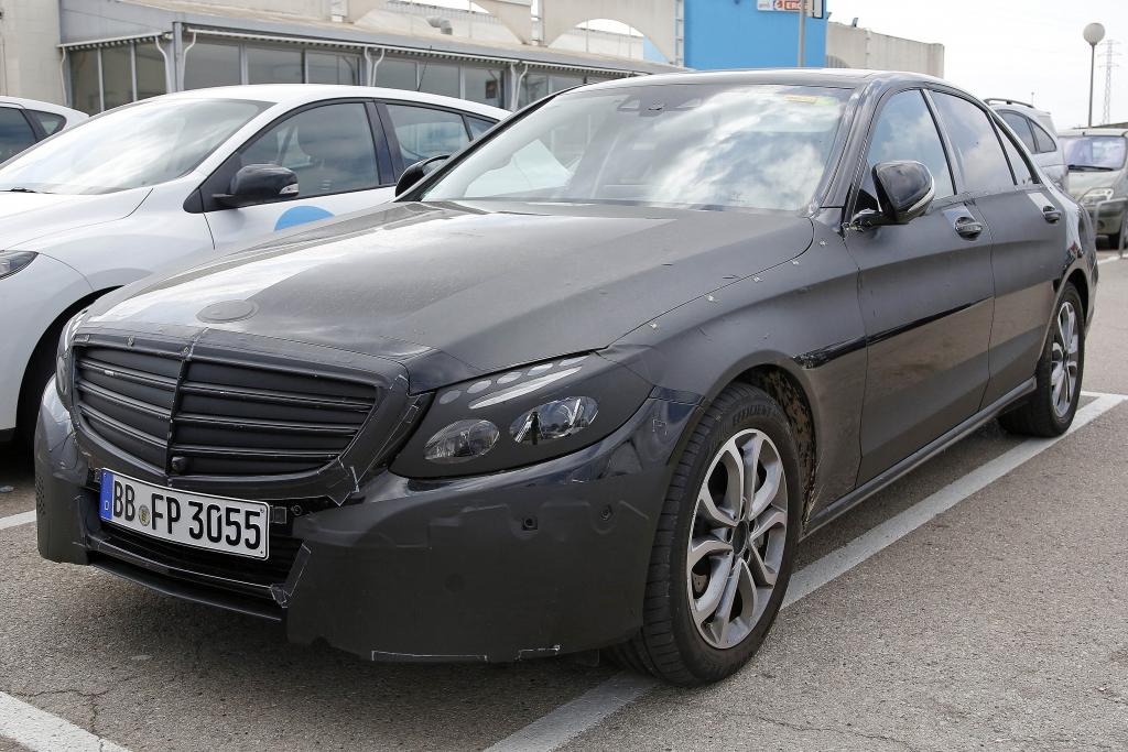 Erwischt: Erlkönig Mercedes C-Klasse Plug-In-Hybrid