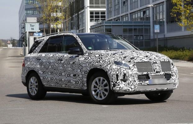 Erwischt: Erlkönig Mercedes M-Klasse Facelift