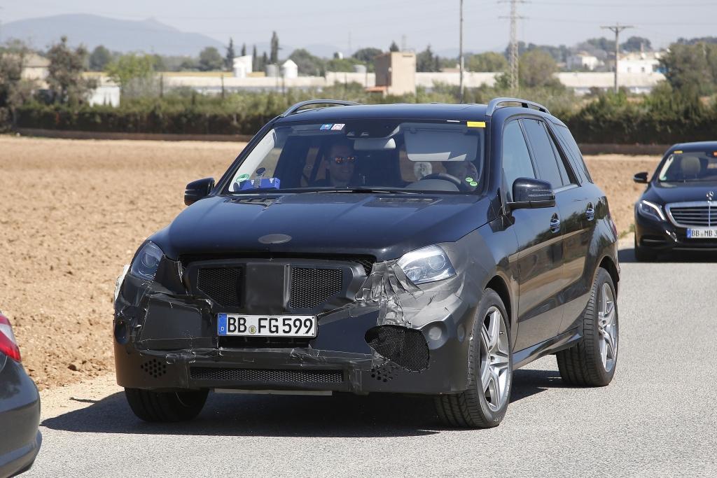 Erwischt: Erlkönig Mercedes ML 63 AMG Facelift