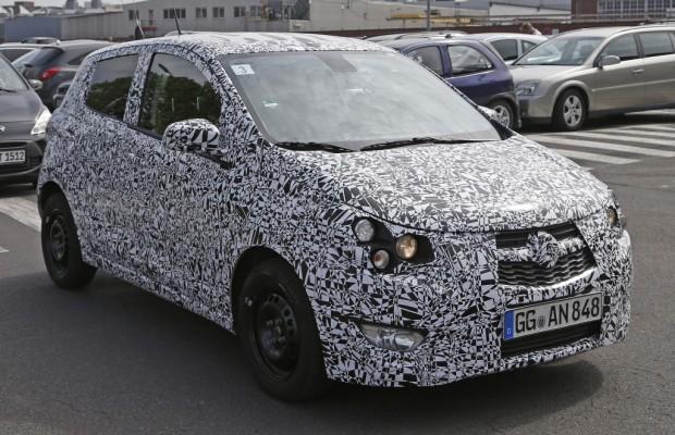 Erwischt: Erlkönig Opel Agila und Chevrolet Spark