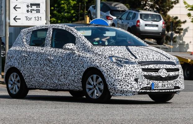 Erwischt: Erlkönig Opel Corsa E