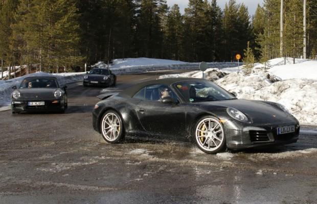 Erwischt: Erlkönig Porsche 911 GTS Cabrio