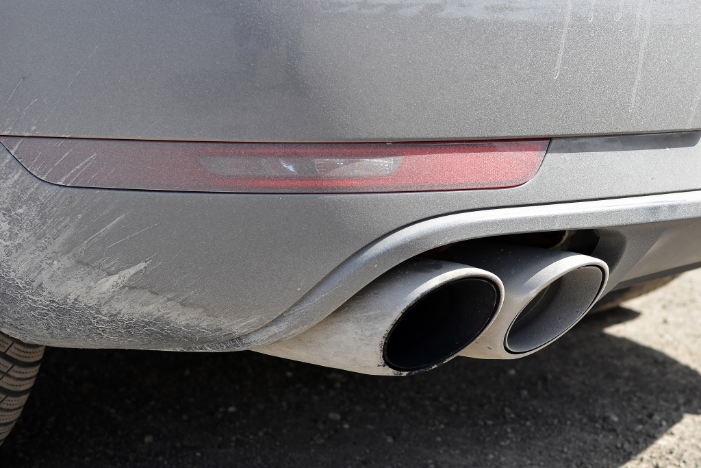 Erwischt: Erlkönig Porsche Macan GTS