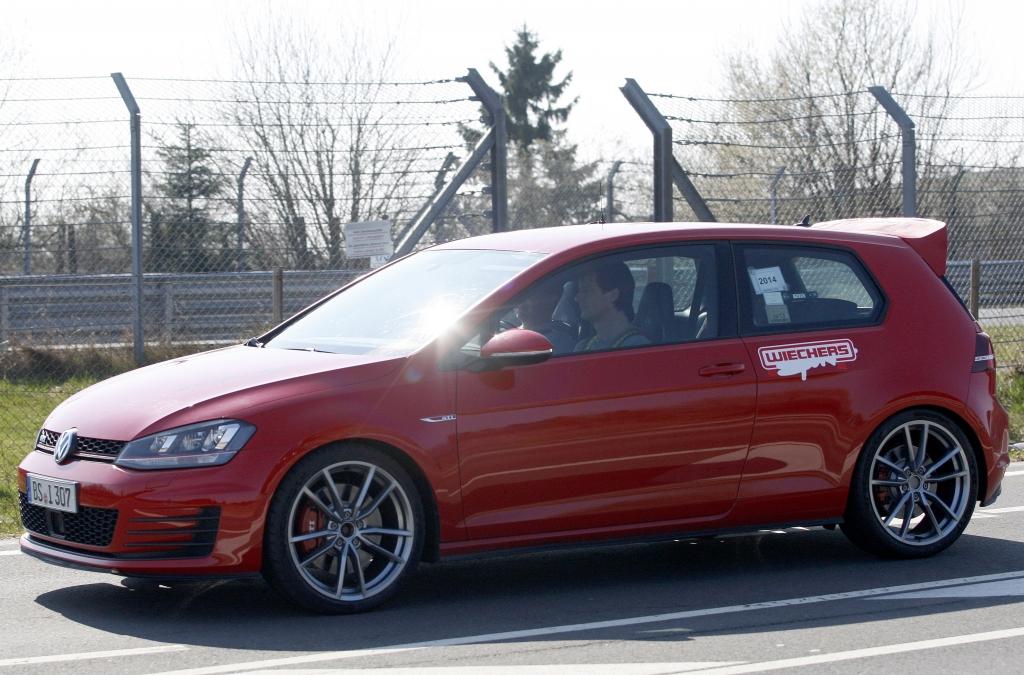Erwischt: Erlkönig VW Golf GTI Club Sport
