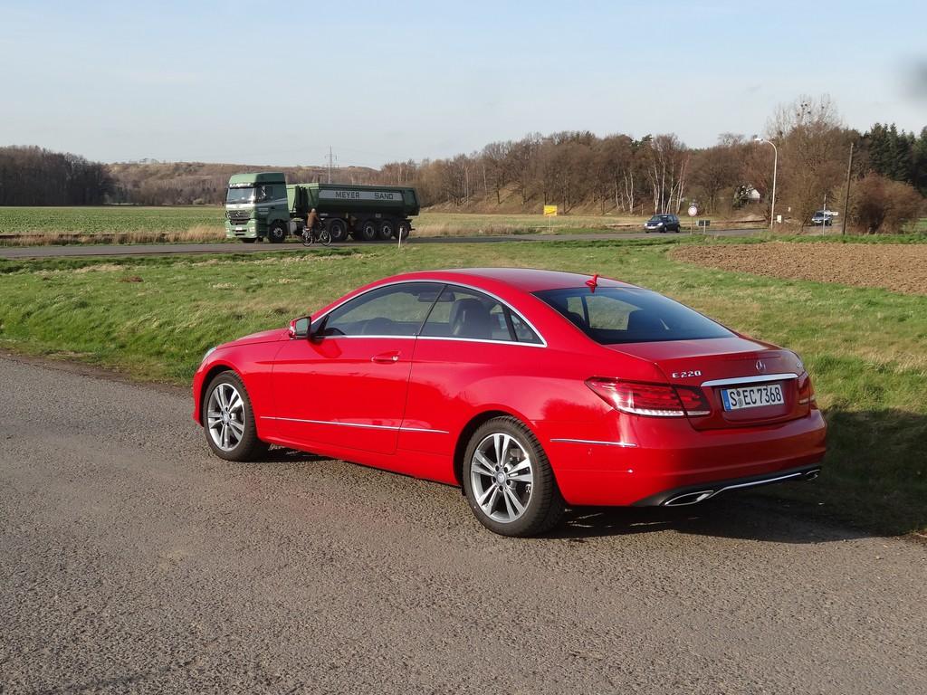 Fahrbericht Mercedes-Benz E 220 CDI Coupé: Zurück aus dem Jungbrunnen
