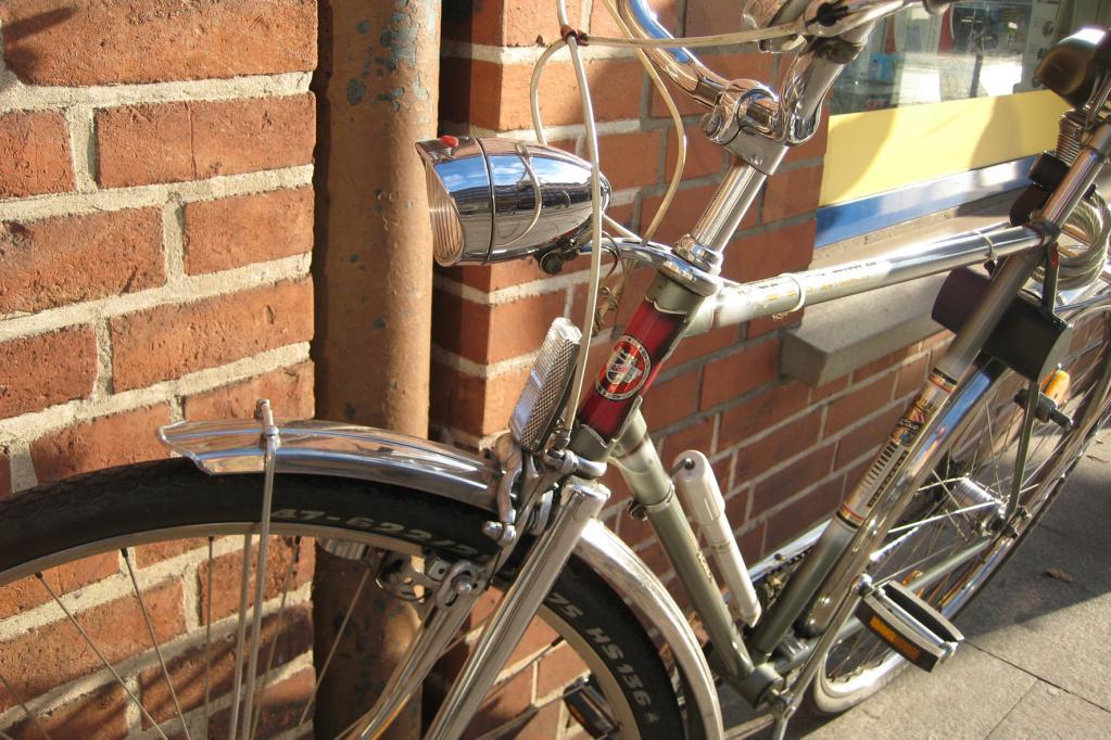 Fahrradlampe mit USB-Lader
