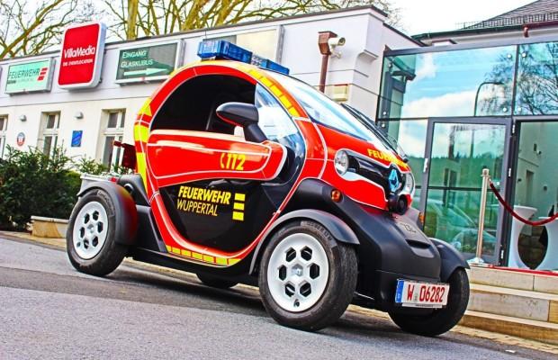 Feuerwehr Wuppertal erhält zwei Renault Twizy