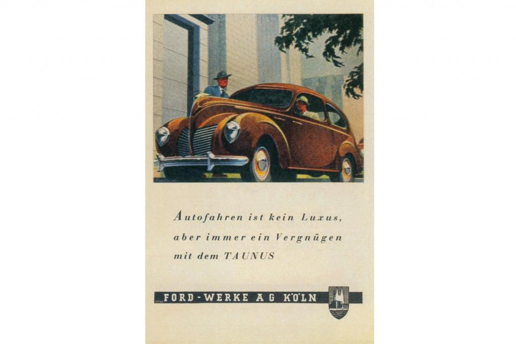 Ford Werbung 1950