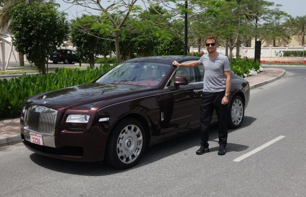 Formel-1-Star Button fährt auf Rolls-Royce ab