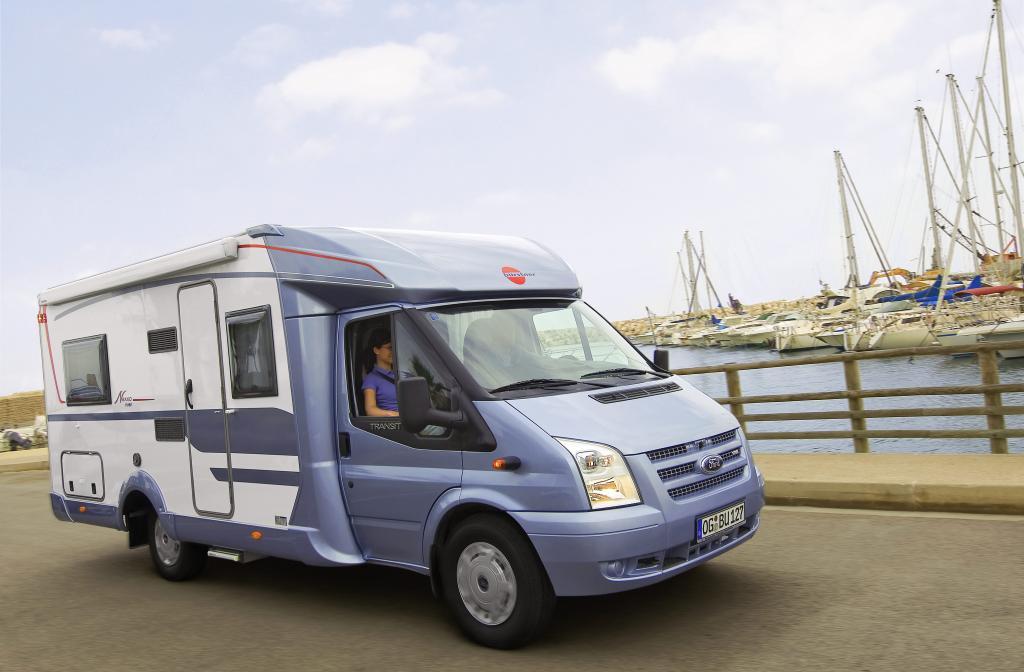 Frischzellenkur für Wohnmobil und Caravan - Bürstner Reisemobile