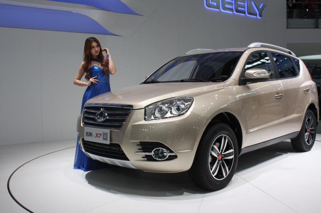 Geely GX 7 - neues SUV mit Benzinmotoren von 1,8 bis 2,4 Liter Hubraum, auch als Allrad, Tochterfirma-Volvo hat technisch unterstützt.