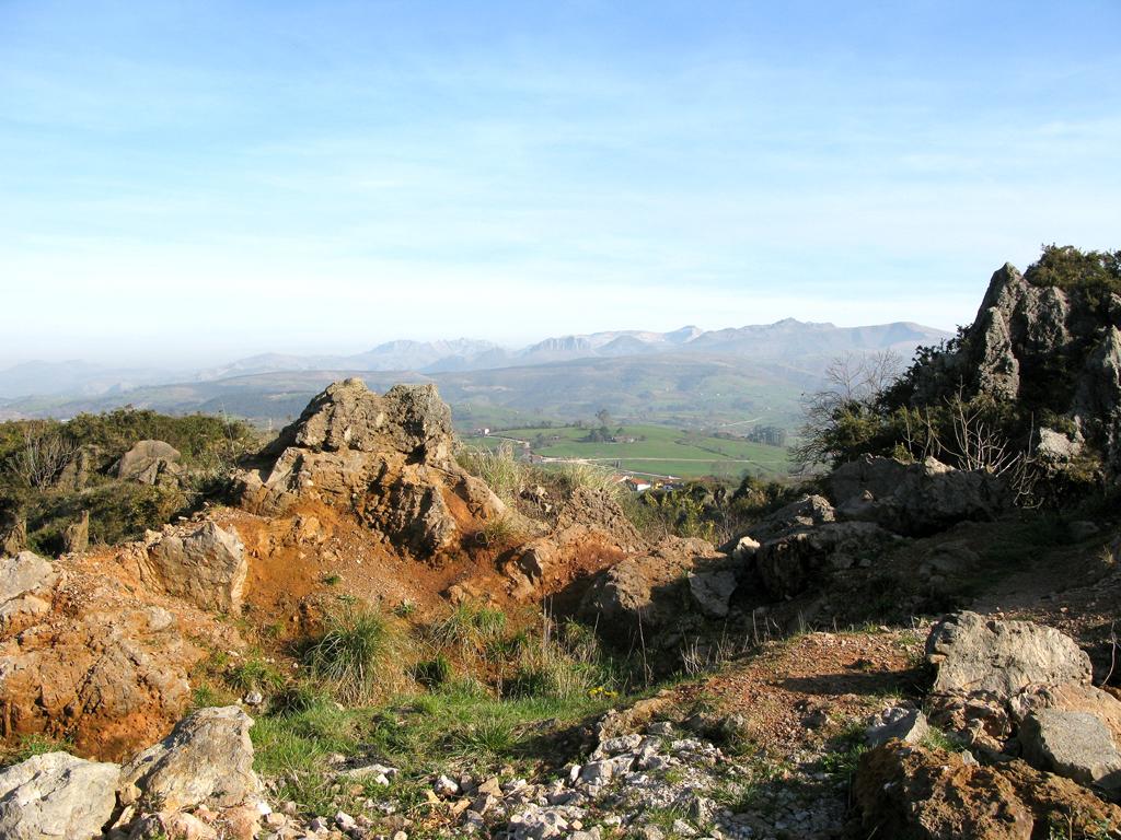 Hügeliges Land: Im Naturpark Cabarceno.
