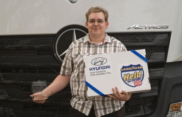 Held der Straße: Trucker stoppt Lkw-Geisterfahrer