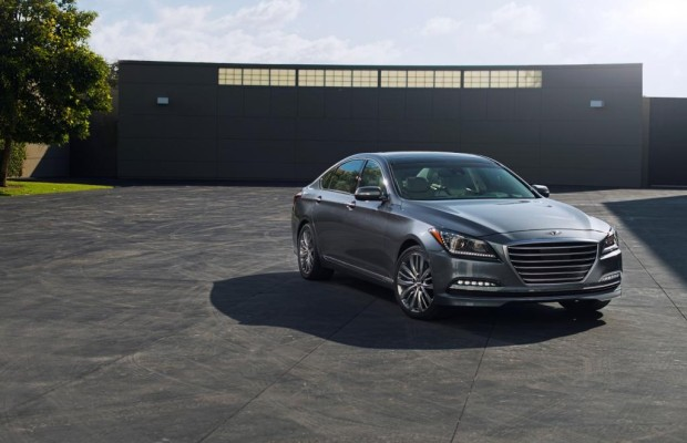 Hyundai Genesis - Gleiter vor Deutschland-Premiere