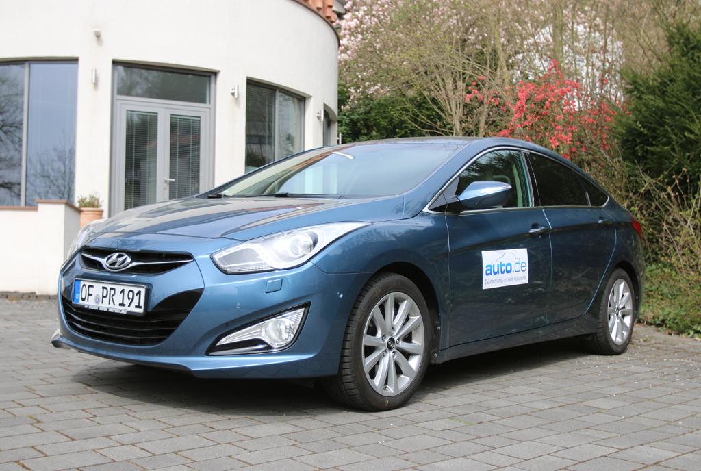 Hyundai i40, hier als Diesel-Limousine mit 100/136 kW/PS.