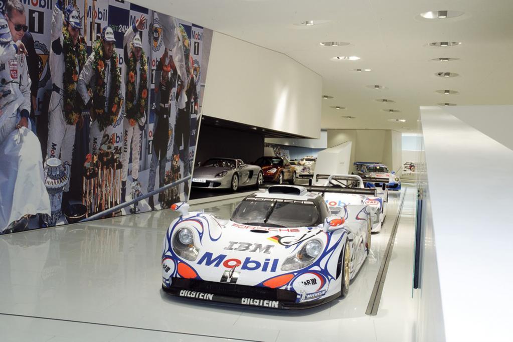 Im Porsche-Museum lebt der Sportsgeist