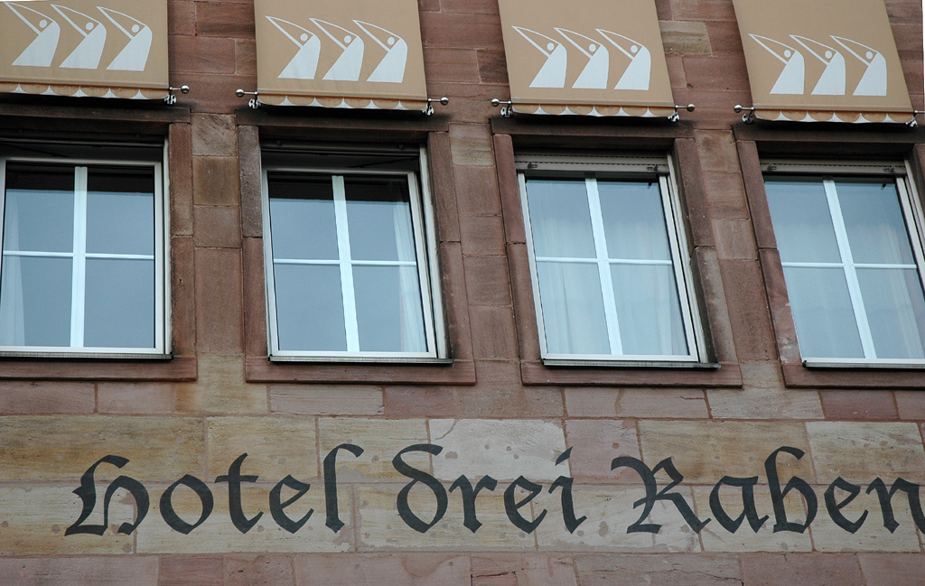 In Nürnbergs Altstadt gelegen: Themenhotel