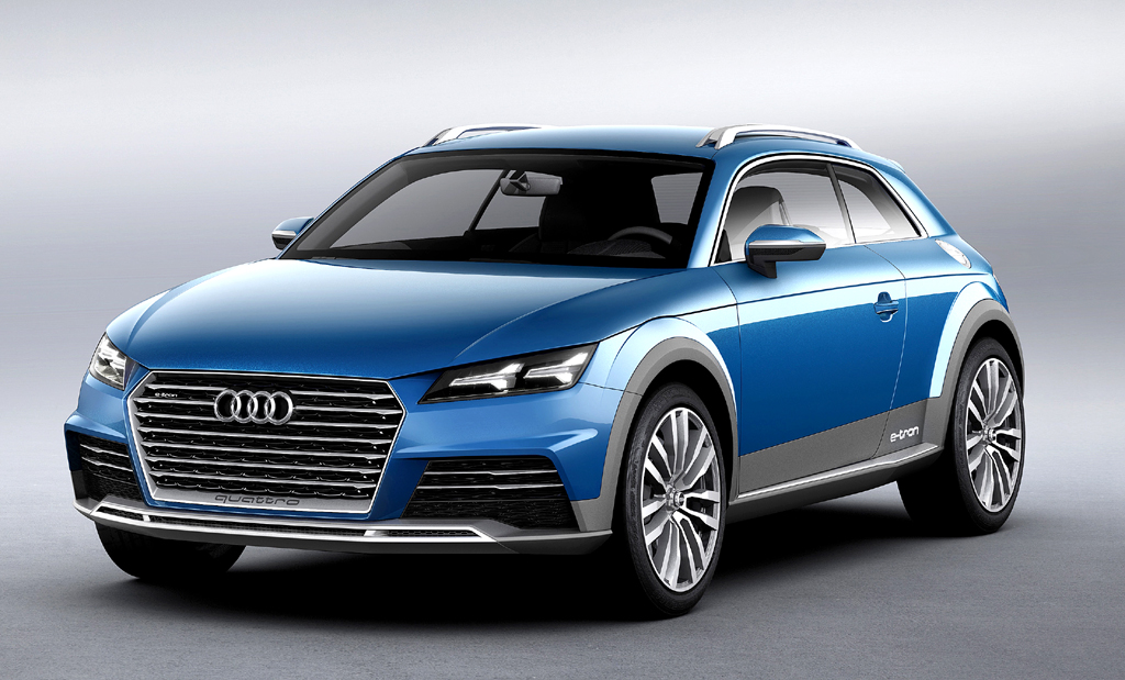 In Peking ebenfalls dabei: Audis Allroad Shooting Brake ...