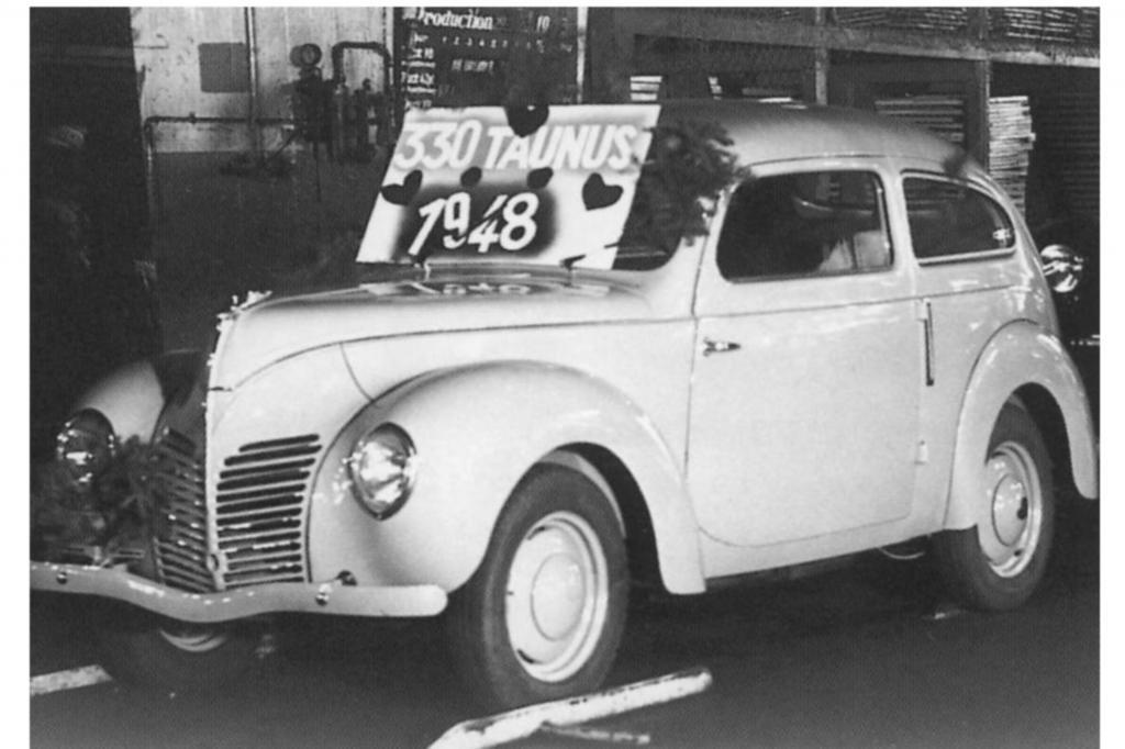 In kaum veränderter Form startete der Taunus ab November 1948 unter dem Werkscode G73A wirklich durch