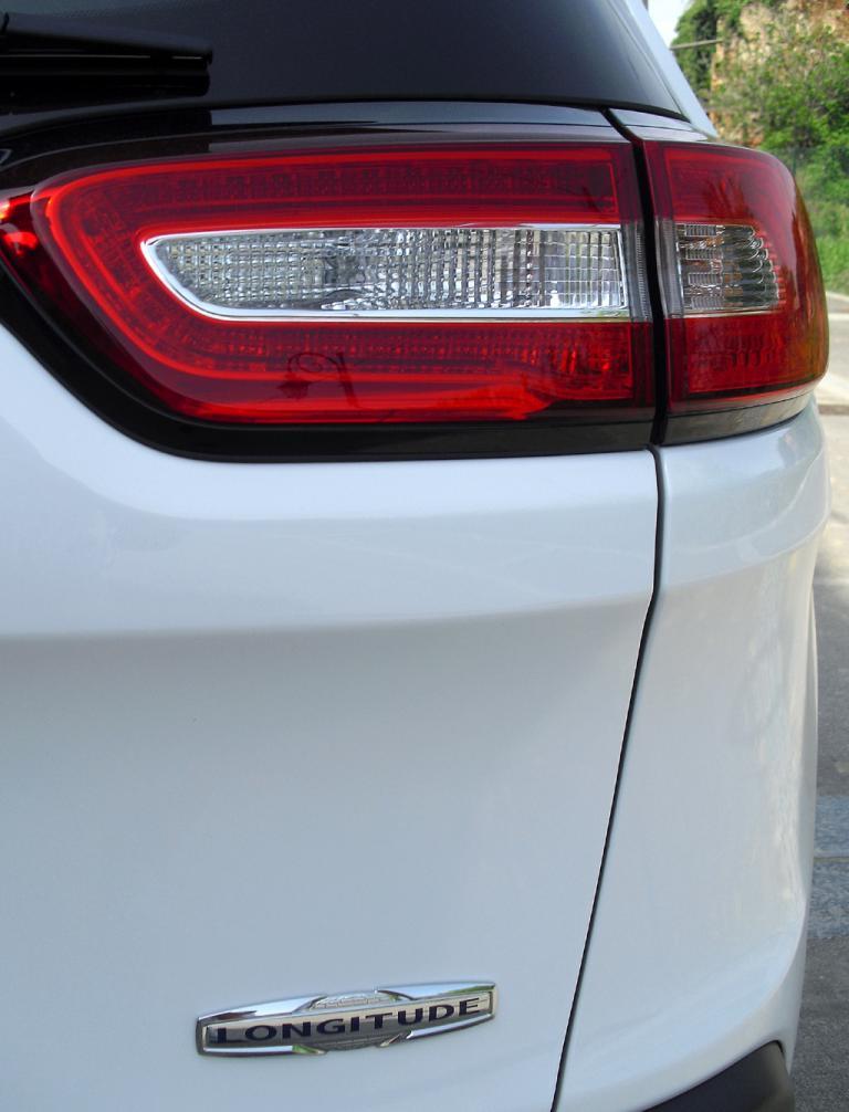 Jeep Cherokee: Auch die Leuchteinheiten hinten sind horizontal ausgerichtet.