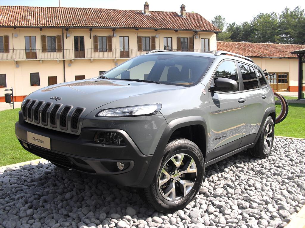Jeep Cherokee: Hier ist das Spitzenmodell, der Trailhawk, zu sehen.