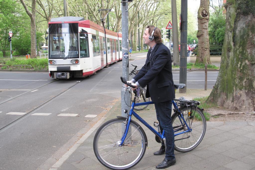 Laute Musik beim Fahrradfahren - erlaubt, aber gefährlich
