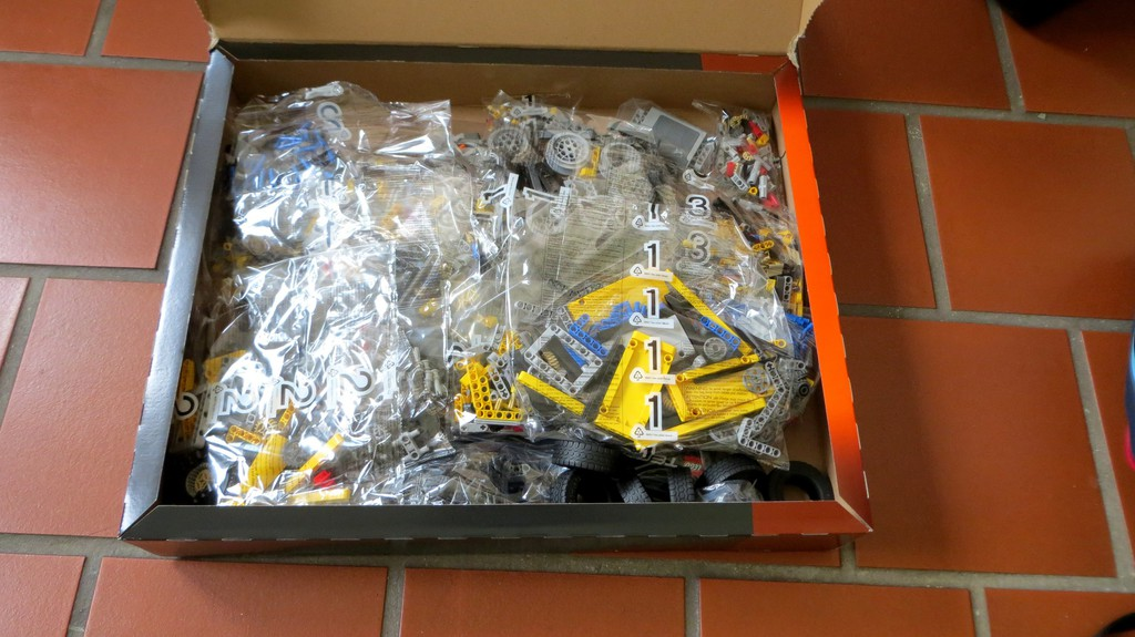 Legos Mobiler Schwerlastkran: Für große Jungs