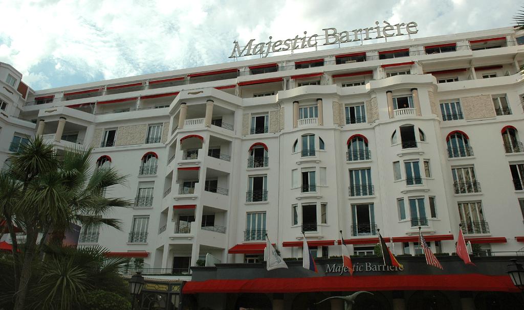 Luxushotel Majestic Barrière an der Croisette.