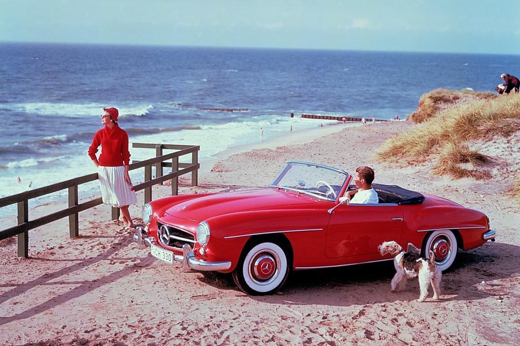 Mercedes Benz 190 SL ab 1956