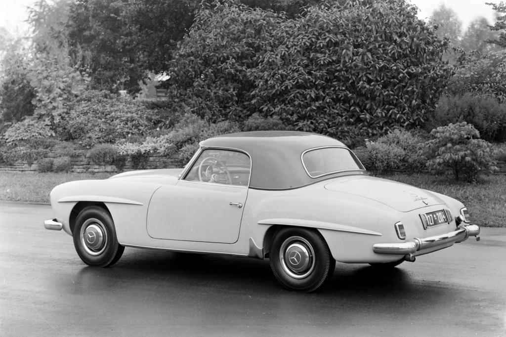 Mercedes Benz 190 SL mit Coupe Dach ab 1955