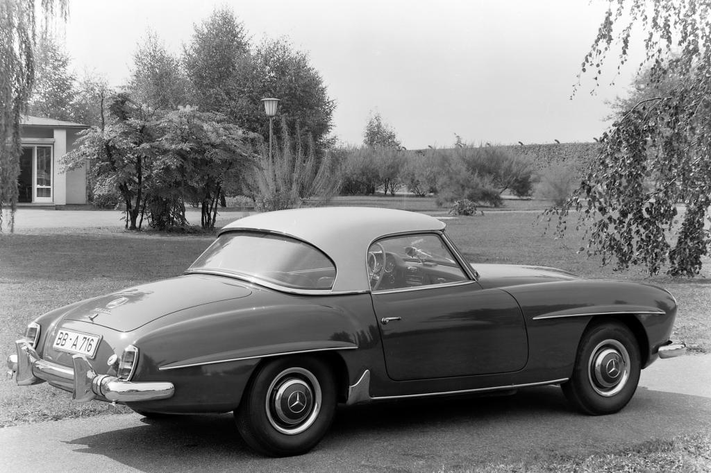 Mercedes Benz 190 SL mit Coupedach 1959