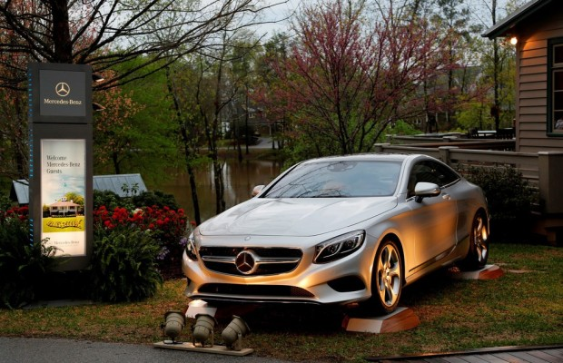 Mercedes-Benz ist Global Sponsor des Masters 2014