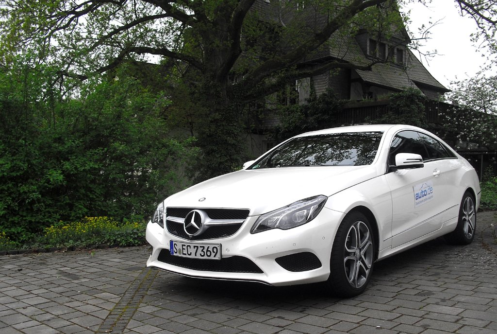 Mercedes E-Coupé: Insgesamt neun Motorisierungen stehen zur Verfügung.