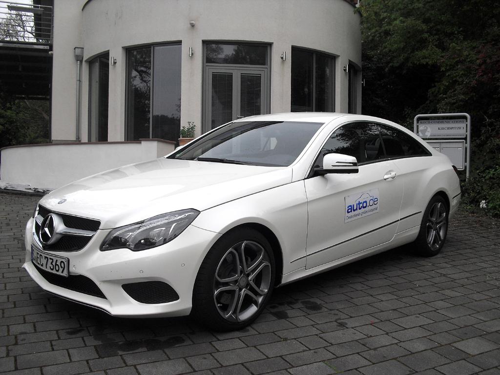 Mercedes E-Coupé, hier als Basisdiesel mit 125/170 kW/PS.