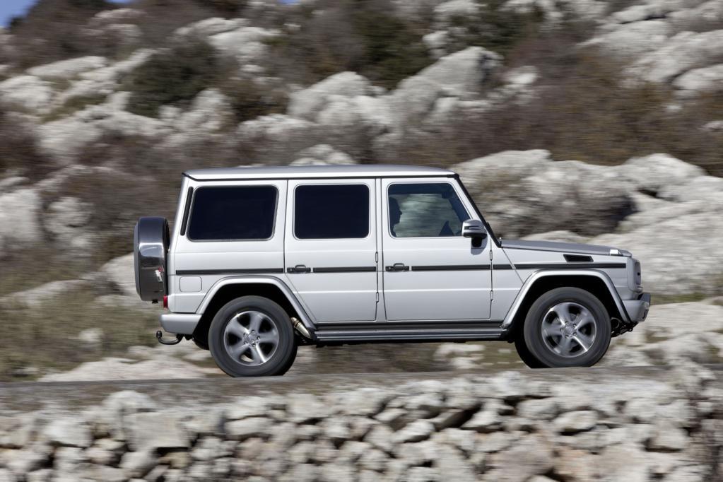 Mercedes renoviert die G-Modellreihe