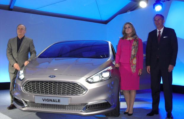 Mit neuer Raffinesse: Ford setzt beim S-Max Vignale-Premiumkonzept fort