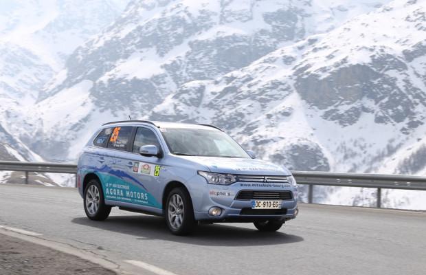 Mitsubishi Plug-in Hybrid Outlander erfolgreich bei